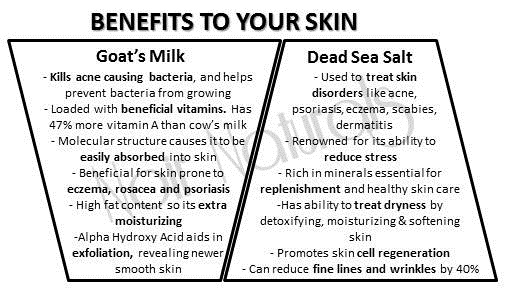 dead sea salt for skin