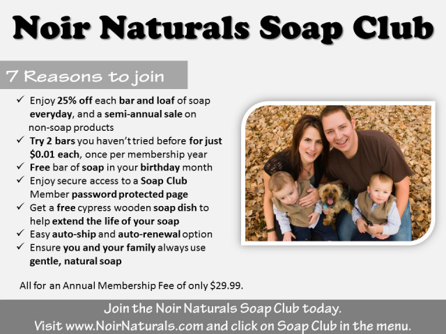 Soap Club - Join & Save!
