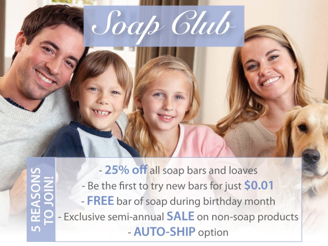 Join the Soap Club and Save!