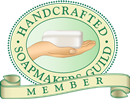 We're a member of the Handcrafted Soapmakers Guild!