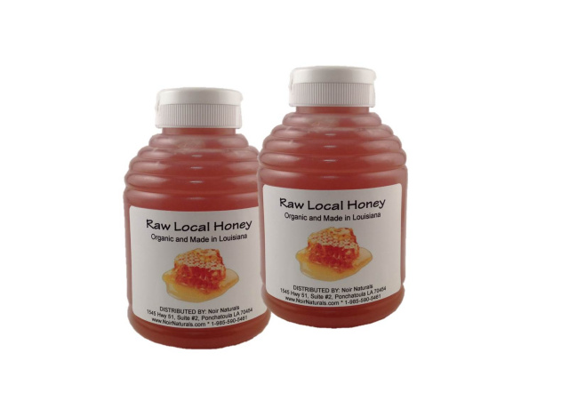 Raw Local Honey - Organic and Made in Louisiana (2 lbs)